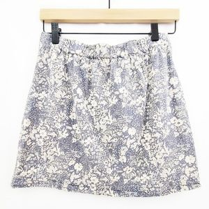 J.Crew Liberty Of London Floral Print Mini Skirt